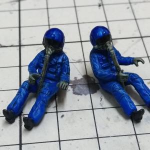 1/48 T-2 ブルーインパルス その1