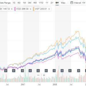 【VUG】【MGK】大手成長株が全部入っていて魅力的、2020年もハイテクは好調予想!