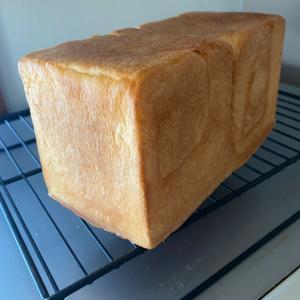 ミルクたっぷりの食パン!