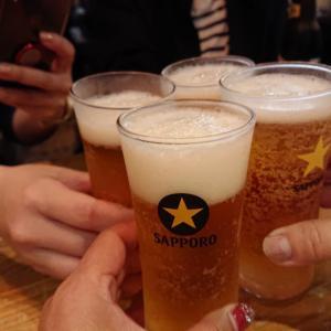 ライブ前の乾杯!