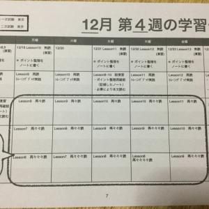 第4週目の学習計画