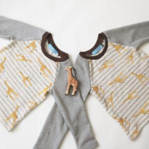 mahoeanela さんの「ラグラントレーナー」「ラグランTシャツ」を作ってみた♪ 難易度★★★☆☆ (前編)