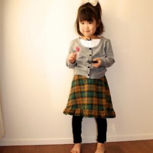 無料型紙から「台形スカート」を作ってみた♪(勝手にフリルアレンジ)難易度★★☆☆☆
