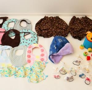 ハンドメイド品を乳児院に寄付してきました(^^)