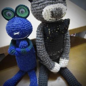 編みぐるみ、いろいろ