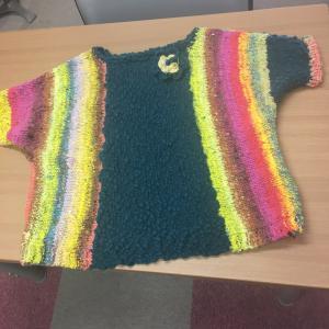 野呂糸セーター完成しました!