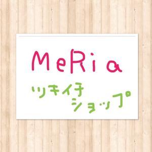 9回目のツキイチショップ MeRia〜メリア〜