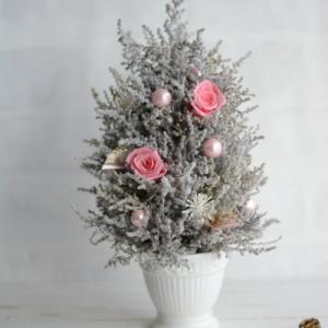 <1Dayレッスン>続々いくよ~!クリスマスレッスン第2弾はホワイトミニツリー♪