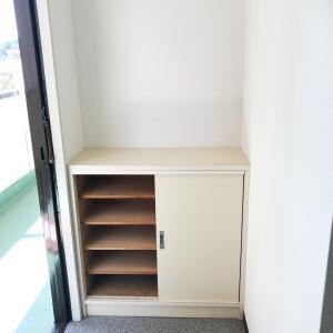 引っ越しが楽しみ!狭い玄関と靴箱