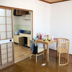 引っ越しが楽しみ!少しずつ部屋が完成するのが嬉しい。
