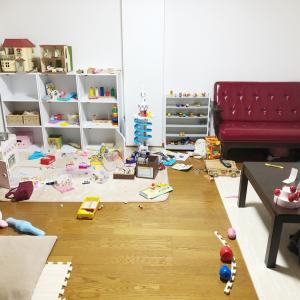 おもちゃの片付け何分で終わる?