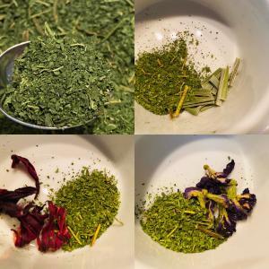 現在、パパイヤ茶は4種類生産しています★