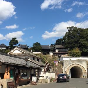 倉敷をあとに岡山城へ。