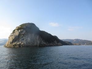 知知丸小豆島鯛サビキ 逃がした魚は多かった。