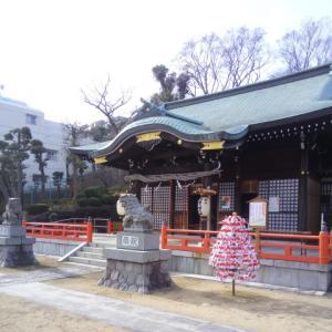 地元の神社で新年のご挨拶