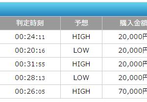 5連続HIT♪13万5千円の勝ち!