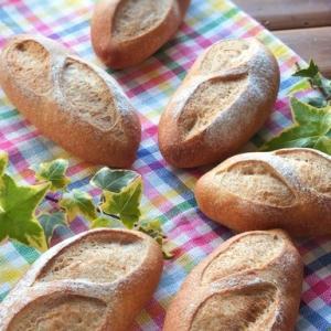 小麦ブランでコッペパン@お家パン