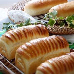 ウールロールミニ食パン&コッペパン@お家パン