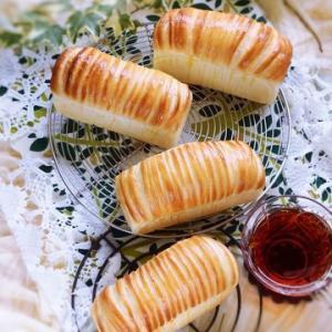 応用>ウールロールミニ食パン