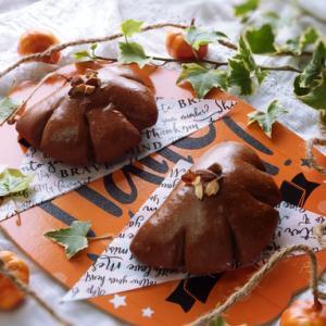 かぼちゃクリームパン@お家パン