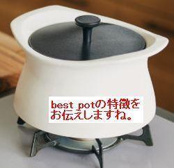 40代~60代の奥様方へ・美味しさも熱も逃さない今までにない羽釜土鍋【best pot】がありました。