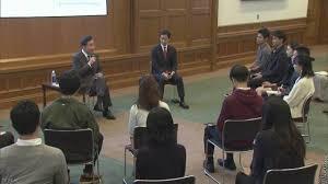 【韓国首相】 日本の大学生と意見交換「若者交流へ支援強化必要」「皆さんは偏見を持たず、ありのままの相手の国を見てほしい」[10/23]
