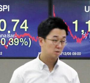 【韓国紙】韓国だけを売る外国人投資家、21営業日で5兆ウォン[12/6]