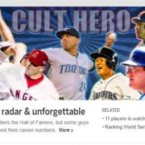 【MLB】 公式ホームページに「旭日旗」を背景にした李大浩(イ・デホ)登場、物議が予想される[02/25]