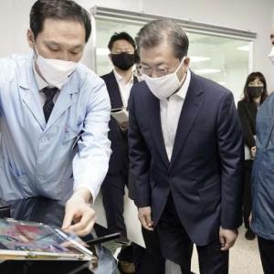 【文大統領】 コロナ経済危機で日本引き合いに克服強調  [04/01]