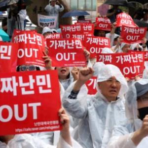 【中央日報】 「欧州よりは韓国」 難民2万人集まるといわれているが…韓国政府には打つ手なし [06/19] [荒波φ★]