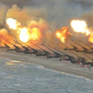 【米シンクタンク】北朝鮮、核でない砲撃だけでも韓国首都圏で20万人の死傷者が出せる 約6000発の砲システムを保有 [08/09]  [新種のホケモン★]