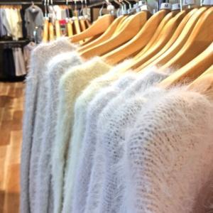 セーターを…(*´・з・)