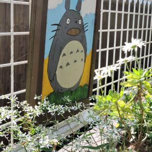 アリス花壇のレンガ3段目~柵の外側補強