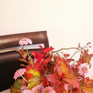 菊を使った晩秋のブーケ