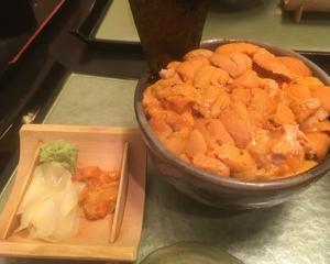 鮨國@築地〜名物ウニ丼!敷き詰まった一面のウニは食べても食べてもなくならない!〜