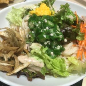 はなまるうどん@横浜ポルタ〜暑くなると食べたくなる!コクうまサラダうどん〜