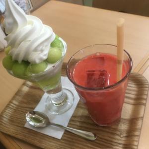 T-Berry豊田屋@戸塚〜夏はフルーツ食べたくなる!メロンパフェとイチゴジュース〜