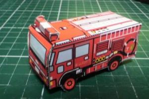 東京消防庁のペーパーポンプ車