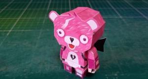 フォートナイトのピンクのクマちゃん