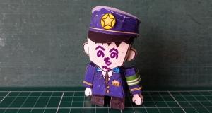 神奈川県浦賀警察署の男性警察官版