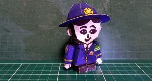 神奈川県浦賀警察署の女性警察官版