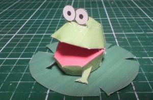 インターポットのカエル