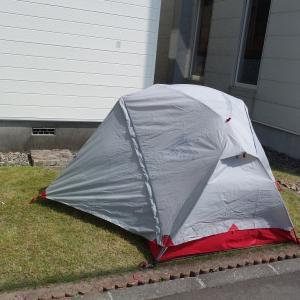テントの点検