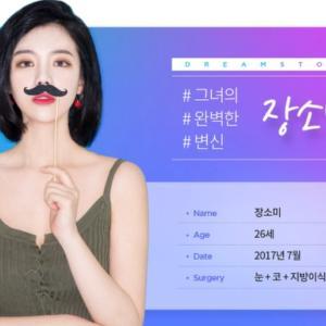 [韓国美容整形]ドーリム整形外科で視線を引きつける美女に大変身♡