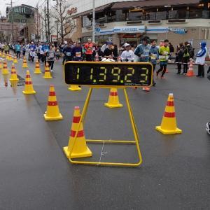 【結果】俺の京都マラソン2020。