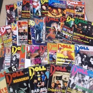 『DOLL MAGAZINE』が私に教えてくれた事。『MONOEYES』ってバンド名の由来と超ロックな『ガンダム』
