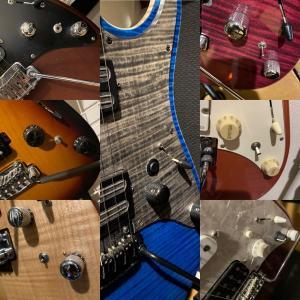 エレキギター、コントロール系。