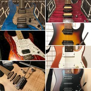 汚くてもカッコいいギター、きれいな方がカッコいいギター。