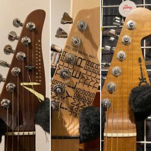 ライブで使うギター。