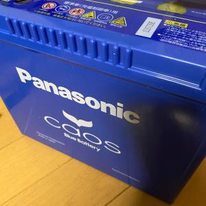 23万キロジムニー、交換したバッテリーはカオス。